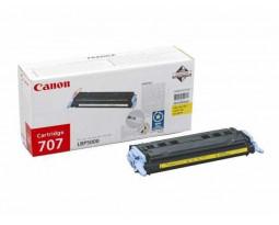 Заправка картриджа Canon Cartridge 707 Y