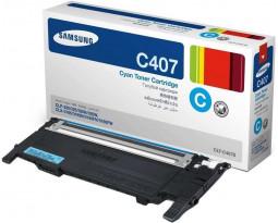 Картридж Samsung CLT-C407S оригинальный