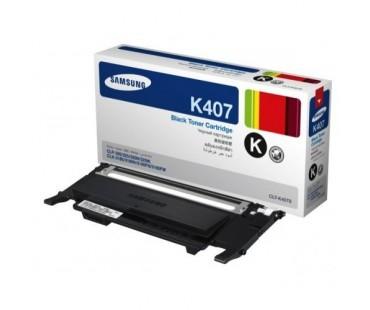 Картридж Samsung CLT-K407S черный