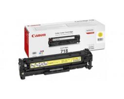 Заправка картриджа Canon 718 Y