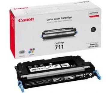 Картридж Canon 711Bk черный оригинальный