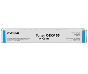 Картридж Canon C-EXV55C голубой (синий) оригинальный