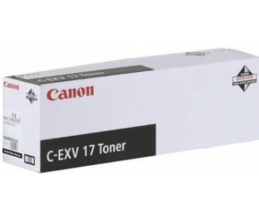 Картридж Canon C-EXV17Bk черный оригинальный