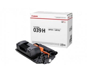 Картридж Canon 039H черный оригинальный