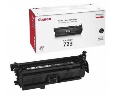 Картридж Canon 723Bk черный оригинальный