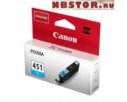 Картридж Canon CLI-451C оригинальный