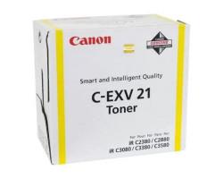 Картридж Canon C-EXV21Y оригинальный