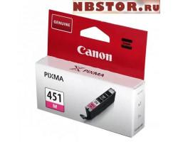 Картридж Canon CLI-451M оригинальный