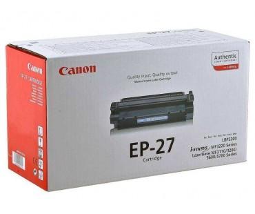 Картридж Canon EP-27 черный оригинальный