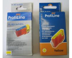 Картридж ProfiLine BCI-3e/5/6 Yellow водный совместимый для Canon