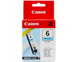 Картридж Canon BCI-6PC Cyan водный оригинальный