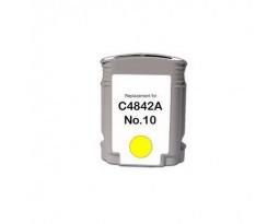 ProfiLine C4842A №10 Yellow водный совместимый для HP
