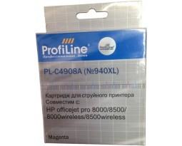 ProfiLine C4906A №940XL Black пигментный совместимый для HP