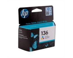 Картридж HP C9361HE №136 Color водный оригинальный