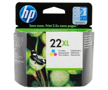 Картридж HP CB338HE №141XL Color водный оригинальный цветной