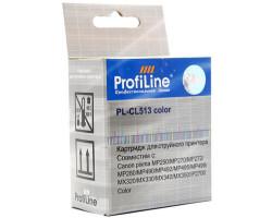 Картридж ProfiLine CL-513 Color водный совместимый для Canon