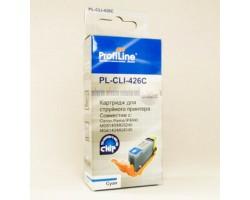 Картридж ProfiLine CLI-426C Cyan с чипом водный совместимый для Canon