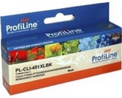 Картридж ProfiLine CLI-451BK XL Black водный совместимый для Canon