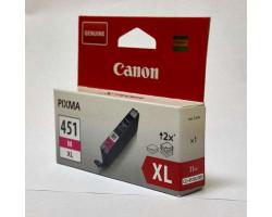 Картридж Canon CLI-451M XL Magenta водный оригинальный