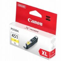 Картридж Canon CLI-451Y XL Yellow водный оригинальный