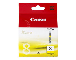 Картридж Canon CLI-8Y с чипом Yellow водный оригинальный