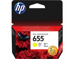 Картридж HP CZ112AE №655 Yellow водный оригинальный
