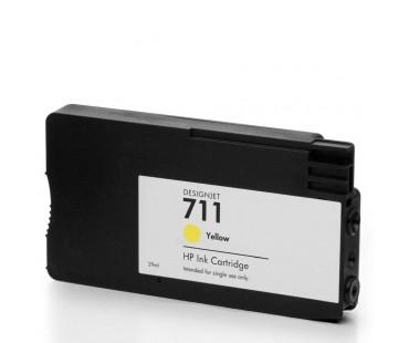 Картридж HP CZ132A №711 Yellow оригинальный желтый
