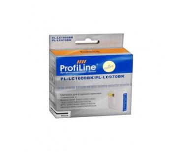 Картридж ProfiLine LC1000BK Black водный совместимый для Brother