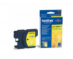 Картридж Brother LC1100/LC980Y Yellow водный оригинальный