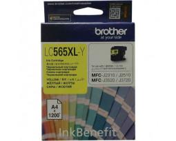 Картридж Brother LC565XL-Y Yellow водный оригинальный