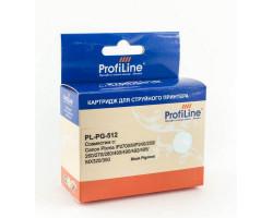 Картридж ProfiLine PG-512 Black водный совместимый для Canon