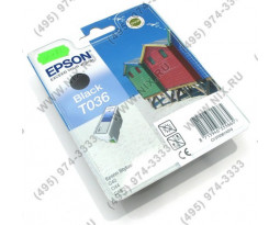 Картридж Epson T036140 Black водный оригинальный