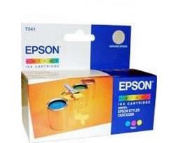 Картридж Epson T041040 Color водный оригинальный