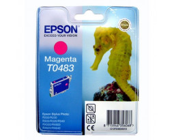 Картридж Epson T048340 Magenta водный оригинальный