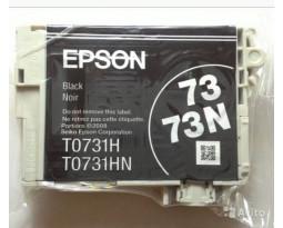 Картридж Epson T0731N Black оригинальный