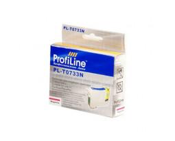 Картридж ProfiLine T0733N Magenta водный совместимый для Epson