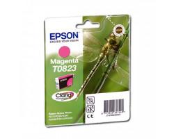 Картридж Epson T0823 Magenta водный оригинальный