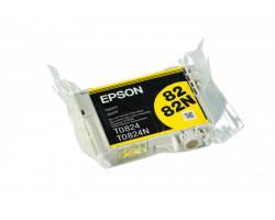 Картридж Epson T0824 Yellow водный оригинальный