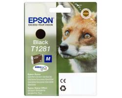 Картридж Epson T1281 Black пигментный оригинальный