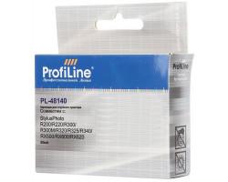 Картридж ProfiLine T48140 Black водный совместимый для Epson