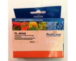 Картридж ProfiLine T48340 Magenta водный совместимый для Epson