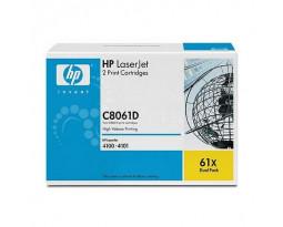 Заправка картриджа HP 61X (C8061XD)