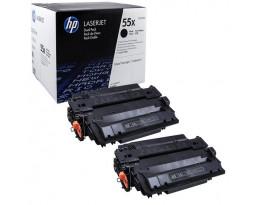 Заправка картриджа HP 55X (CE255XD)