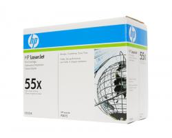 Картридж HP 55X (CE255X) оригинальный