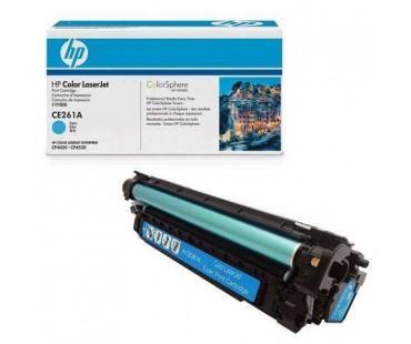 Картридж HP 648A (CE261A) голубой (синий) оригинальный
