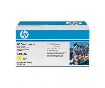 Картридж HP 648A (CE262A) желтый оригинальный