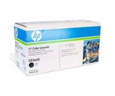 Картридж HP 646X (CE264X) черный оригинальный