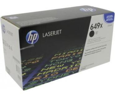 Картридж HP 649X (CE260X) черный оригинальный
